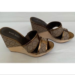 Nine West Wedges size 5